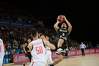 New Zealand Tall Blacks&rsquo; Shea Ili in action during the FIBA World Cup Basketball Qualifier - NZ Tall Blacks v China at Spark Arena, Auckland, New Zealand on Sunday 1 July 2018.<br /> Photo by Masanori Udagawa. <br /> www.photowellington.photoshelter.com