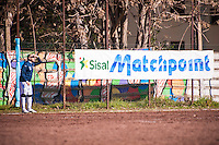 Roma, 17 gennaio 2016. La ASD Liberi Nantes gioca la prima partita nello stadio XXV aprile a Pietralata dopo l'omologazione da parte della Federazione Italiana Giuoco Calcio per poter disputare le gare ufficiali di campionato. La Liberi Nantes nasce nel 2007 come Associazione Sportiva Dilettantistica in Italia, riconosciuta dall'UNHCR, promuove e garantisce la libertà di accesso allo Sport a rifugiati e richiedenti asilo politico. - Rome, January 17th, 2016. The Liberi Nantes ASD play their first game in the stadium XXV Aprile in Pietralata after the approval by the Italian Football Federation to play in the official games of the championship. The Liberi Nantes was founded in 2007 as ASD in Italy, acknowledged by UNHCR, promote and ensure the freedom of access to the Sport to refugees and asylum seekers.