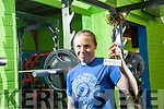 Local woman  Danielle O'Sullivan comes 4th in World Power Lifting Championships in Riva del Garda Italy