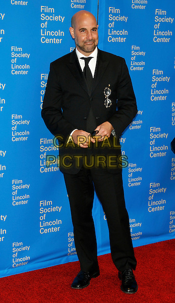 STANLEY TUCCI .Film Society of Lincoln Center's 35th Annual Gala Tribute honoring  Meryl Streep at Avery Fisher Hall - Lincoln Center, New York, NY, USA, .April 14, 2008..full length black suit tie .CAP/LNC/TOM .©LNC/Capital Pictures