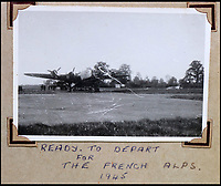 BNPS.co.uk (01202 558833)<br /> Pic: Bellmans/BNPS<br /> <br /> Ready to depart for the French Alps, 1945.<br /> <br /> A fascinating trove of SAS records including some of the first photographs of the elite force which have never been seen before has been unearthed. <br /> <br /> The extensive assortment, also including medals and documents, was accumulated by war hero Lance Corporal William James Cooke at the end of World War Two. <br /> <br /> Remarkable images of Cooke's previously unrevealed wartime exploits show him serving behind enemy lines in occupied France and assisting with the liberation of Norway. <br /> <br /> His accomplishments have come to light after a family member presented the bequeathed collection to Hampshire-based auctioneer Bellmans, which will sell it tomorrow.