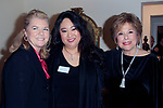 """LOS ANGELES - JAN 9: Meg Thomas, Bonnie Tseng, Kate Johnson at The Actors Fund's """"In The Spotlight"""" Living Room Salon Series launch with special guest Sherry Lansing at a private estate on January 9, 2018 in Beverly Hills, CA"""