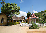 Exterior of railway station, Ella, Badulla District, Uva Province, Sri Lanka, Asia