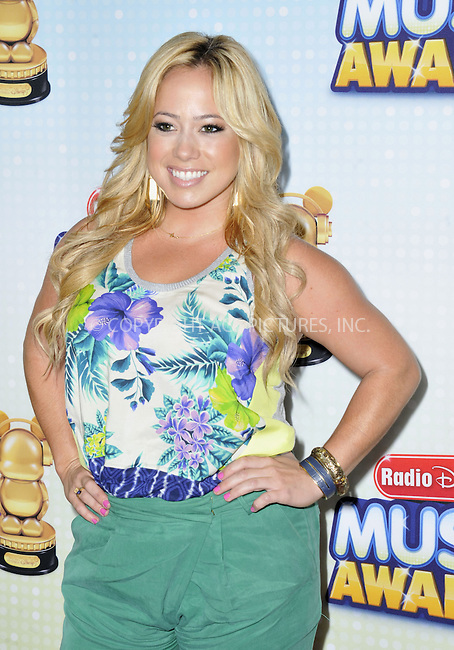 WWW.ACEPIXS.COM....April 27 2013, LA....Sabrina Bryan arriving at the 2013 Radio Disney Music Awards at the Nokia Theatre L.A. Live on April 27, 2013 in Los Angeles, California...........By Line: Peter West/ACE Pictures......ACE Pictures, Inc...tel: 646 769 0430..Email: info@acepixs.com..www.acepixs.com