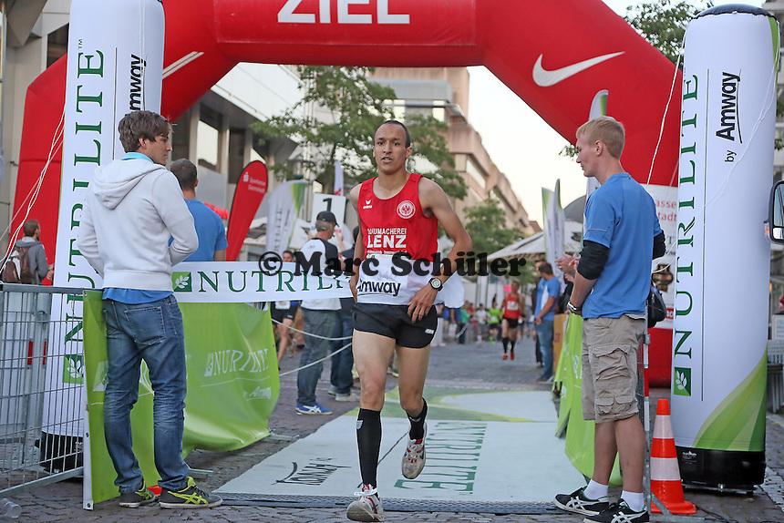 Sieger Saba Hassan (LG Eintracht Frankfurt) bei der Nutrilite Mens Challenge
