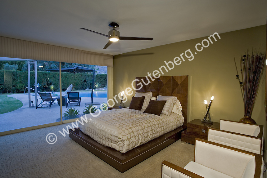 Stock photo of bedroom