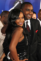 HOLLYWOOD, CA - AUGUST 16: Nick Gordon and Bobbi Kristina Brown at the 'Sparkle' film premiere at Grauman's Chinese Theatre on August 16, 2012 in Hollywood, California. &copy;&nbsp;mpi26/MediaPunch Inc. /NortePhoto.com<br />