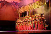 Beijing ,China- 2007 File Photo -<br /> <br />  acrobats performance<br /> <br /> <br /> <br /> photo : James Wong-  Images Distribution
