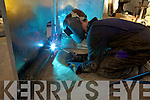 Metal worker from Kerry Mechanical Engineering pictured last Friday in the workshop in Listowel.