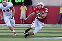 10 Sept 2011: Rex Burkhead #22 of the Nebraska Cornhuskers rushing against the Fresno State Bulldogs at Memorial Stadium in Lincoln, Nebraska. Nebraska defeated Fresno State 42 to 29.