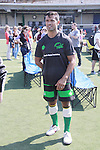"All My Children's Mark Consuelos participates at the ""Kicking It"" at the Annual Tribeca/NYFEST Soccer Day Celebrity Exhibition on April 21, 2012 - NYFEST (which stands for New York Film and Entertainment Soccer Tournament) was designed to mesh the worlds of entertainment, soccer and New York City in conjunction with the Tribeca Film Festival. The day included a film and entertainment industry tournament with 44 teams with one winner the Grassrootsoccer team which Mark Consuelos played on was cofounded by Survivor winner Ethan Zohn. The all-day event took place at Pier 40 in Manhattan, and consisted of an industry tournament, a youth showcase, and a celebrity soccer tournament.  (Photo by Sue Coflin/Max Photos)"