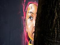Street-art in the streets of Hanoi, Vietnam