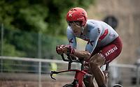 Reto Hollenstein (SUI/Katusha-Alpecin)<br /> <br /> Stage 9 (ITT): Riccione to San Marino (34.7km)<br /> 102nd Giro d'Italia 2019<br /> <br /> ©kramon