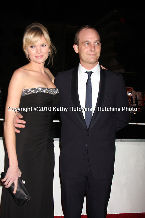 Sunny Mabrey & Ethan Embry.arriving at the 3rd Annual Art of Elysium Gala.Rooftop of Parking Garage across from Beverly Hilton Hotel.Beverly Hills, CA.January 16, 2010.©2010 Kathy Hutchins / Hutchins Photo....