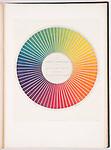 Des couleurs et de leurs applications aux arts industriels &agrave; l'aide des cercles chromatiques (Colors and their applications to the industrial<br />  arts using chromatic circles)&nbsp;by&nbsp;Michel Eug&egrave;ne&nbsp;Chevreul, Paris:&nbsp;J.B. Balli&egrave;re et fils,&nbsp;1864; Purchase from the Margery Masinter Endowment, Smithsonian Libraries.&nbsp;<br /> <br /> Photo: Matt Flynn &copy; Smithsonian Institution