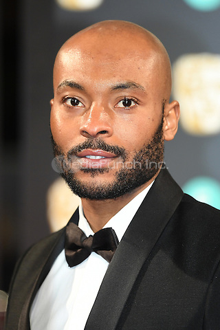 LONDON, ENGLAND - FEBRUARY 12: Arinze Kene attends the 70th EE British Academy Film Awards (BAFTA) at Royal Albert Hall on February 12, 2017 in London, England.<br /> CAP/BEL<br /> &copy;BEL/Capital Pictures /MediaPunch ***NORTH AND SOUTH AMERICAS ONLY***