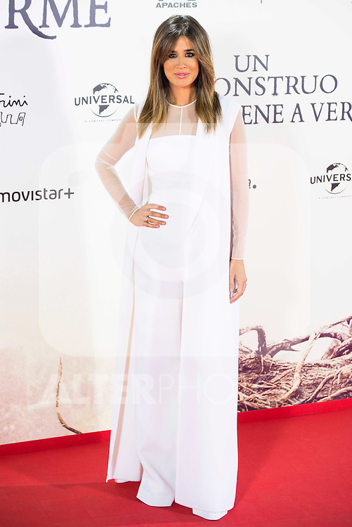 "Isabel Jimenez during the premiere of the spanish film ""Un Monstruo Viene a Verme"" of J.A. Bayona at Teatro Real in Madrid. September 26, 2016. (ALTERPHOTOS/Borja B.Hojas)"