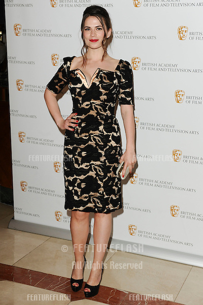 Actress, Hayley Atwell arrives for the BAFTA Craft Awards 2010 at the London Hilton, Park Lane, London. 23/05/2010  Picture by Steve Vas/Featureflash