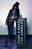 Slash; Guns N' Roses; 1987<br /> Photo Credit: Eddie Malluk/Atlas Icons.com