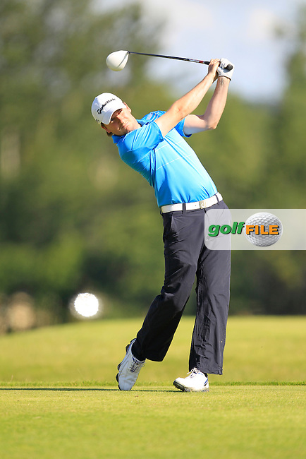 Bernard Quigley (Carton House) on the 6th tee during the Johnston Mooney &amp; O'Brien PGA Challenge Round 1 at Carton House Golf Club  7th August 2013 <br /> Picture:  Thos Caffrey / www.golffile.ie