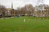 Westbourne Green, a public open space managed by Westminster City Council