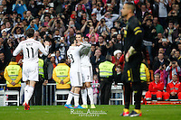 Real Madrid´s Portuguese forward Cristiano Ronaldo celebrates a goal