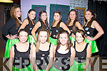 Some of the dancers taking part in the Colaiste na Sceilge Variety Show on Thursday night last were front l-r; Rachel Galvin, Shannon O'Shea, Donna McCarthy, Grace Etherton, back l-r; Cathy O'Shea, Mairead Browne, Nicole Donnelly, Amy golden, Lauren O'Sullivan & Muireann Tarrant.