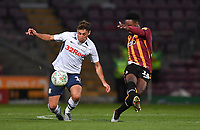 Preston North End's Ryan Ledson battles with Bradford City's Jermaine Anderson<br /> <br /> Photographer Dave Howarth/CameraSport<br /> <br /> The Carabao Cup First Round - Bradford City v Preston North End - Tuesday 13th August 2019 - Valley Parade - Bradford<br />  <br /> World Copyright © 2019 CameraSport. All rights reserved. 43 Linden Ave. Countesthorpe. Leicester. England. LE8 5PG - Tel: +44 (0) 116 277 4147 - admin@camerasport.com - www.camerasport.com