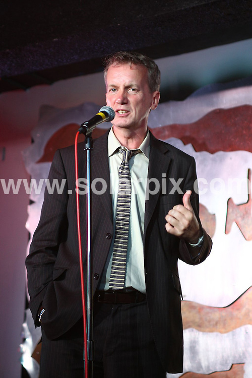 "**ALL ROUND PICTURES FROM SOLARPIX.COM**.**WORLDWIDE SYNDICATION RIGHTS**.comedian and presenter Frank Skinner being inducted into Birmingham's ""Walk of the Stars"" at Jongleurs Comedy club. The presentation was made by the Lord Mayor of Birmingham, Counsellor Michael Wilkes. Birmingham, UK. 1 August 2009..This pic: Frank Skinner..JOB REF: 9664 NYA     DATE: 01_08_2009.**ALL ROUND EXCLUSIVE PICTURES FROM SOLARPIX.COM"