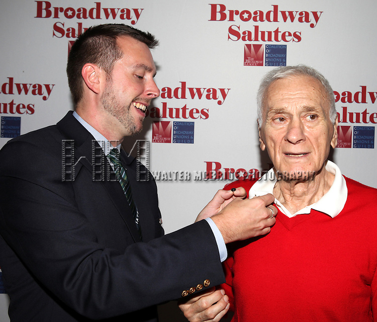 attending the 'Broadway Salutes' honoring those who make Broadway Great at the Timers Square Visitors Center in Times Square,  New York City on 9/20/2012.