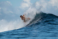 Namotu Island Resort, Nadi, Fiji (Wednesday, June 6th  2018):  Liam Wilmott (AUS)  -<br /> The South swell continued to roll in this morning with chest to head high sets at Cloudbreak. There were South East Trade wins early before it switched to light and variable mid morning.  Wilkes, Cloudbreak and Namotu Lefts all had good waves around the tides. <br /> Photo: joliphotos.com