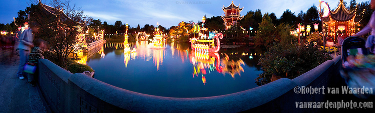The lantern festival at the Montreal Botanical Gardens