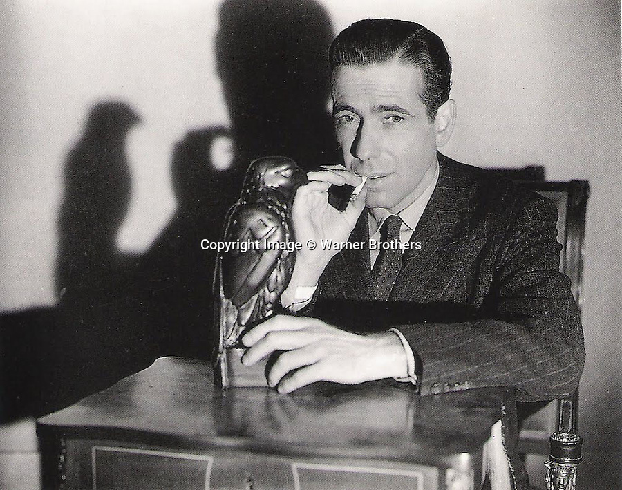 BNPS.co.uk (01202) 558833<br /> Picture: WarnerBrothers<br /> <br /> Million Dollar prop...<br /> <br /> A lead statue of a bird which turned out to be a worthless dud in the Hollywood film The Maltese Falcon has sold for a whopping £2.5 million.<br /> <br /> The 12-inch falcon was the object of desire of Humphrey Bogart's private detective character, who wrongly believed it to be a priceless, jewel-encrusted gold antique.<br /> <br /> Experts had expected it to sell for £1 million but it was snapped up by an anonymous bidder for £2.5 million at the Bonhams sale in New York.