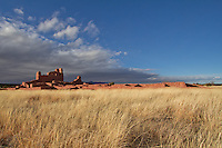 Abo pueblo ruin, part of the Salinas Pueblo Missions National Monument in New Mexico.