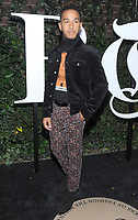 NEW YORK, NY - SEPTEMBER 09: Lewis Hamilton arrives at the #BoF500 gala dinner during New York Fashion Week Spring/Summer 2018 at Public Hotel on September 9, 2017 in New York City. <br /> CAP/MPI/JP<br /> &copy;JP/MPI/Capital Pictures