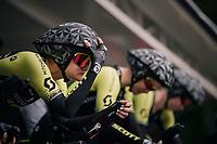 Georgia Williams (NZL/Mitchelton-Scott) on the start ramp<br /> <br /> UCI WOMEN'S TEAM TIME TRIAL<br /> Ötztal to Innsbruck: 54.5 km<br /> <br /> UCI 2018 Road World Championships<br /> Innsbruck - Tirol / Austria