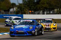 2017 Porsche GT3 Cup USA<br /> Sebring International Raceway, Sebring, FL USA<br /> Friday 17 March 2017<br /> 47, Andrew Longe, GT3P, USA, 2017 Porsche 991<br /> World Copyright: Jake Galstad/LAT Images<br /> ref: Digital Image lat-galstad-SIR-0317-14857