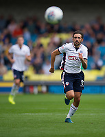 Bolton Wanderers' Jem Karacan in action during today&sbquo;&Auml;&ocirc;s game<br /> <br /> Photographer Ashley Western/CameraSport<br /> <br /> The EFL Sky Bet Championship - Millwall v Bolton Wanderers - Saturday August 12th 2017 - The Den - London<br /> <br /> World Copyright &not;&copy; 2017 CameraSport. All rights reserved. 43 Linden Ave. Countesthorpe. Leicester. England. LE8 5PG - Tel: +44 (0) 116 277 4147 - admin@camerasport.com - www.camerasport.com