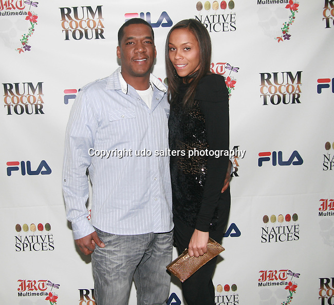 Williams Haygood and Dee Williams Attend Jocelyn Taylor's Birthday Celebration and Official Launch of JRT Multimedia, LLC (A Luxury Branding Company)at Nikki Beach Midtown, New York, 3/26/2011