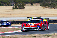 12th January 2020; The Bend Motosport Park, Tailem Bend, South Australia, Australia; Asian Le Mans, 4 Hours of the Bend, Race Day; The number 51 Spirit Of Race GT driven by Francesco Piovanetti, Oswaldo Negri Jr, Alessandro Pierguidi during the race - Editorial Use