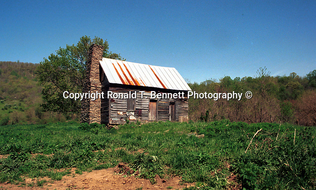 Cabin in the Blue Ridge Mountains Commonwealth of Virginia, Fine Art Photography by Ron Bennett, Fine Art, Fine Art photography, Art Photography, Copyright RonBennettPhotography.com ©