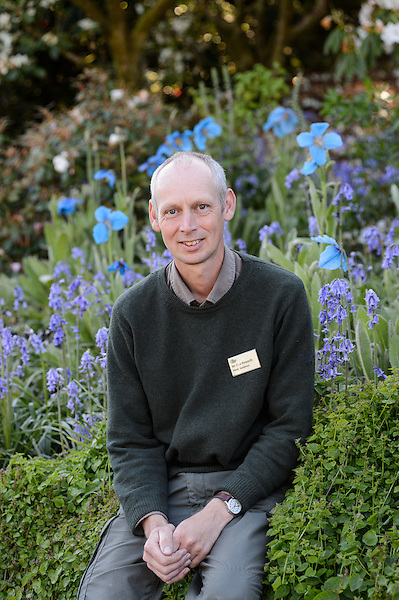 Head Gardener Nick Haworth