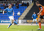 St Johnstone v Dundee United...09.05.15   SPFL<br /> David Wotherspoon puts this first half chance over the bar<br /> Picture by Graeme Hart.<br /> Copyright Perthshire Picture Agency<br /> Tel: 01738 623350  Mobile: 07990 594431