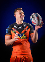 Picture by Allan McKenzie/SWpix.com - 09/01/18 - Rugby League - Super League - Castleford Media Day 2018 - A1 Football Factory, Castleford, England - Greg Eden.