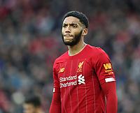 1st February 2020; Anfield, Liverpool, Merseyside, England; English Premier League Football, Liverpool versus Southampton; Joe Gomez of Liverpool