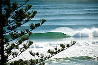 Line up at the Superbank, Coolangatta, Queensland Australia.  Photo: joliphotos.com
