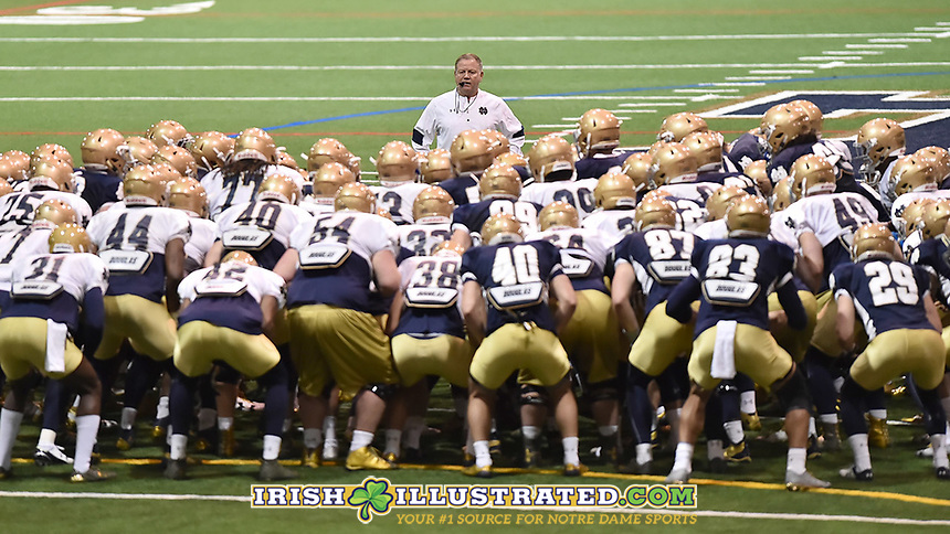 Head coach Brian Kelly