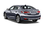 Car pictures of rear three quarter view of 2017 Acura ilx Tech Plus and A Spec Package 4 Door Sedan angular rear