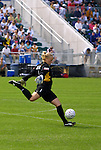 5 April 2003: Courage goalkeeper Meghann Burke. The Washington Freedom defeated the Carolina Courage 2-1 at SAS Stadium in Cary, NC in a regular season WUSA game.