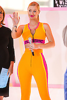 NEW YORK CITY, NY, USA - AUGUST 08: Singer Iggy Azalea Performs On NBC's 'Today' at Rockefeller Plaza on August 8, 2014 in New York City, New York, United States. (Photo by Jeffery Duran/Celebrity Monitor)